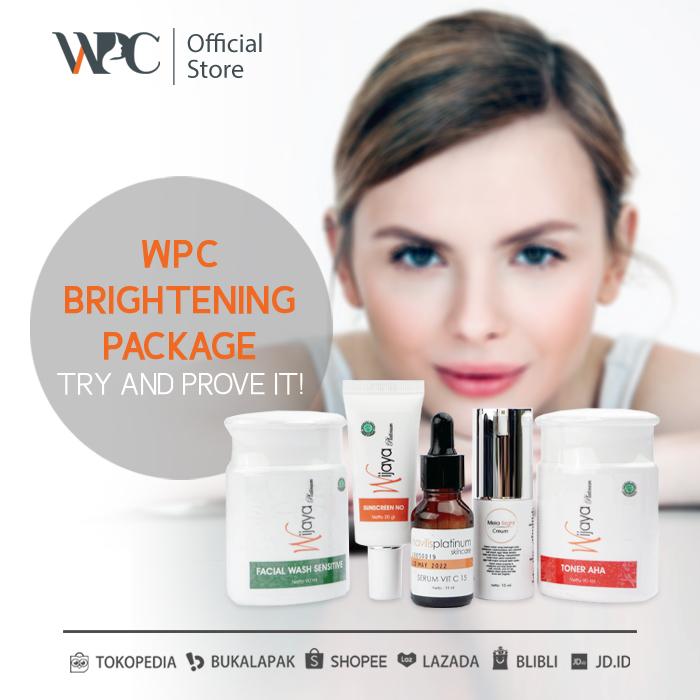 wijaya platinum clinic wpc brightening package 1 skincare yang bikin cepat putih