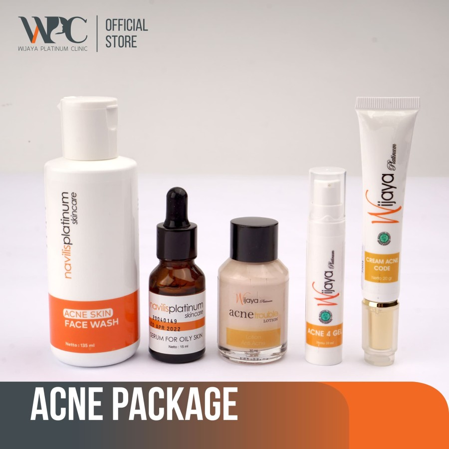 wijaya platinum clinic wpc acne series package