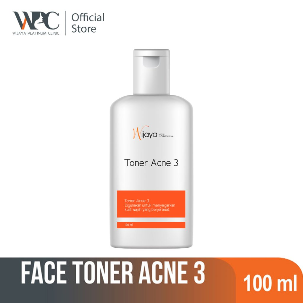 wijaya platinum clinic wpc exfoliating toner untuk kulit berminyak