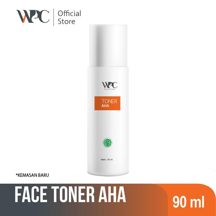 wijaya platinum wpc skincare toner untuk kulit sensitif