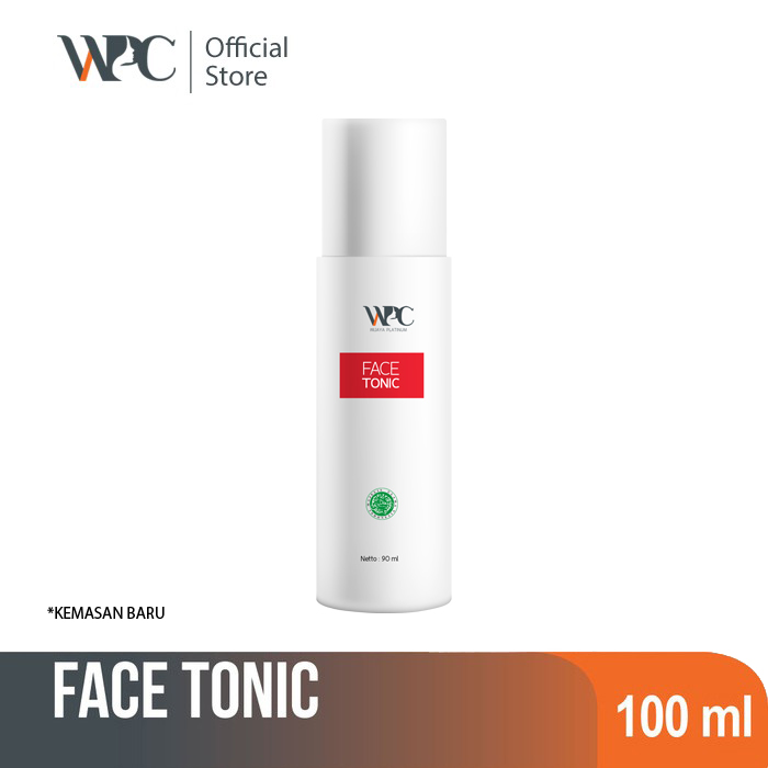 wijaya platinum clinic wpc face tonic exfoliating toner